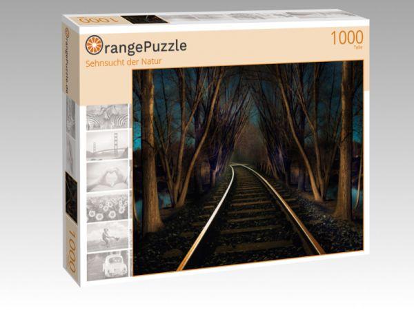 """Puzzle Motiv """"Sehnsucht der Natur"""" - Puzzle-Schachtel zu 1000 Teile Puzzle"""