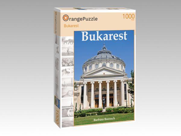 """Puzzle Motiv """"Bukarest"""" - Puzzle-Schachtel zu 1000 Teile Puzzle"""