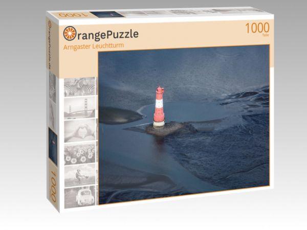 """Puzzle Motiv """"Arngaster Leuchtturm"""" - Puzzle-Schachtel zu 1000 Teile Puzzle"""