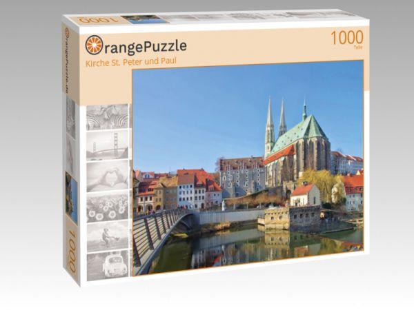 """Puzzle Motiv """"Kirche St. Peter und Paul"""" - Puzzle-Schachtel zu 1000 Teile Puzzle"""