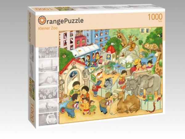 "Puzzle Motiv ""Kleiner Zoo"" - Puzzle-Schachtel zu 1000 Teile Puzzle"