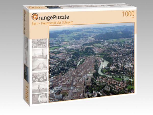 """Puzzle Motiv """"Bern - Hauptstadt der Schweiz"""" - Puzzle-Schachtel zu 1000 Teile Puzzle"""