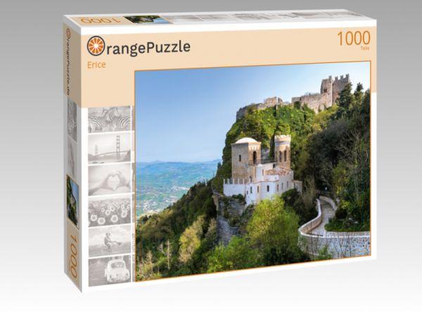 """Puzzle Motiv """"Erice"""" - Puzzle-Schachtel zu 1000 Teile Puzzle"""