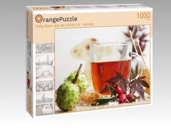 """Puzzle Motiv """"Tasty Essen aus der Küche UK - Version"""" - Puzzle-Schachtel zu 1000 Teile Puzzle"""