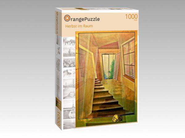 """Puzzle Motiv """"Herbst im Raum"""" - Puzzle-Schachtel zu 1000 Teile Puzzle"""