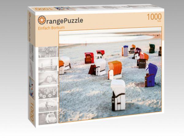 """Puzzle Motiv """"Einfach Borkum"""" - Puzzle-Schachtel zu 1000 Teile Puzzle"""