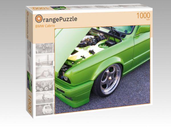 """Puzzle Motiv """"BMW Cabrio"""" - Puzzle-Schachtel zu 1000 Teile Puzzle"""