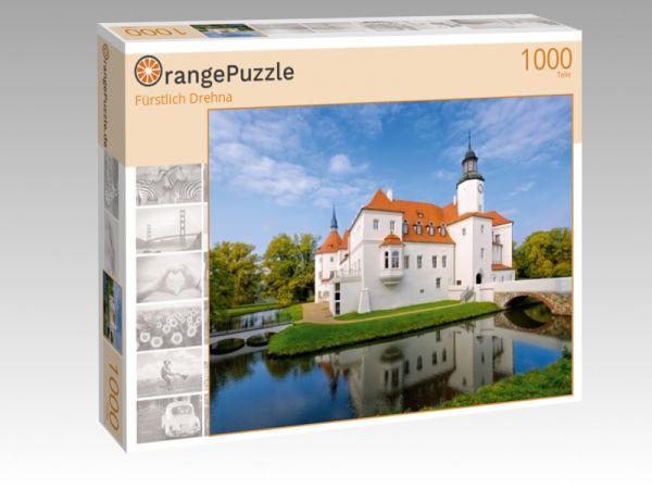 """Puzzle Motiv """"Fürstlich Drehna"""" - Puzzle-Schachtel zu 1000 Teile Puzzle"""