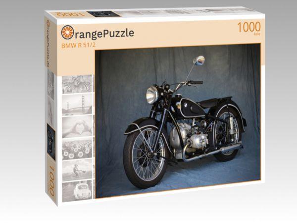"""Puzzle Motiv """"BMW R 51/2"""" - Puzzle-Schachtel zu 1000 Teile Puzzle"""