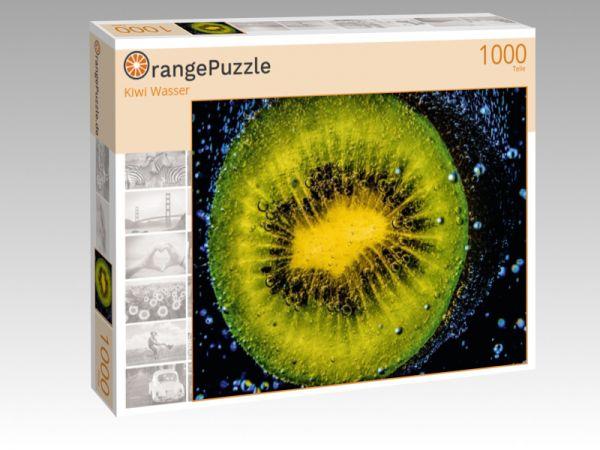 "Puzzle Motiv ""Kiwi Wasser"" - Puzzle-Schachtel zu 1000 Teile Puzzle"