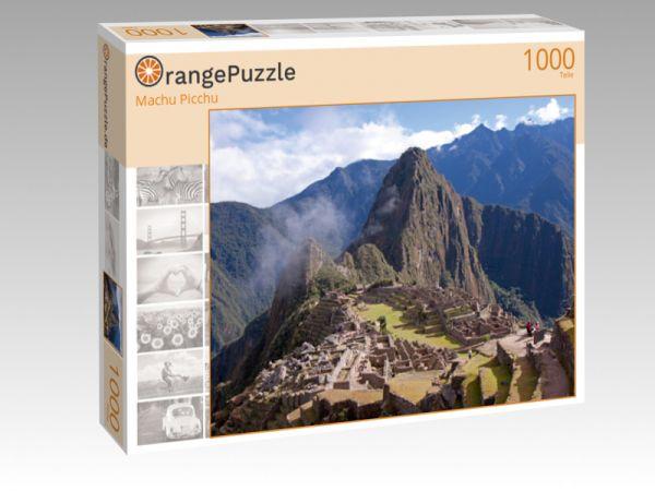 """Puzzle Motiv """"Machu Picchu"""" - Puzzle-Schachtel zu 1000 Teile Puzzle"""