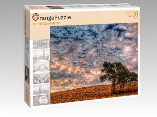 """Puzzle Motiv """"Namib Naukluft NP"""" - Puzzle-Schachtel zu 1000 Teile Puzzle"""