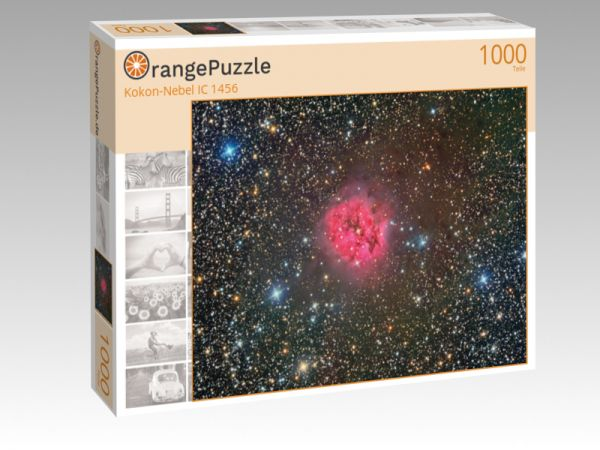 "Puzzle Motiv ""Kokon-Nebel IC 1456"" - Puzzle-Schachtel zu 1000 Teile Puzzle"