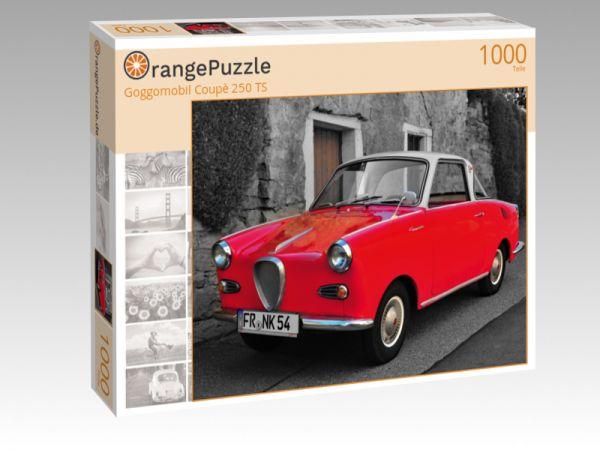 """Puzzle Motiv """"Goggomobil Coupè 250 TS"""" - Puzzle-Schachtel zu 1000 Teile Puzzle"""