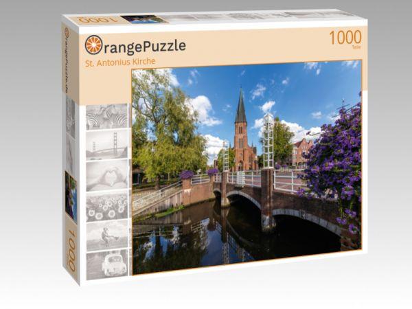 """Puzzle Motiv """"St. Antonius Kirche"""" - Puzzle-Schachtel zu 1000 Teile Puzzle"""