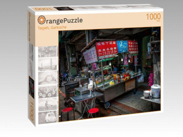 """Puzzle Motiv """"Taipeh, Garküche"""" - Puzzle-Schachtel zu 1000 Teile Puzzle"""