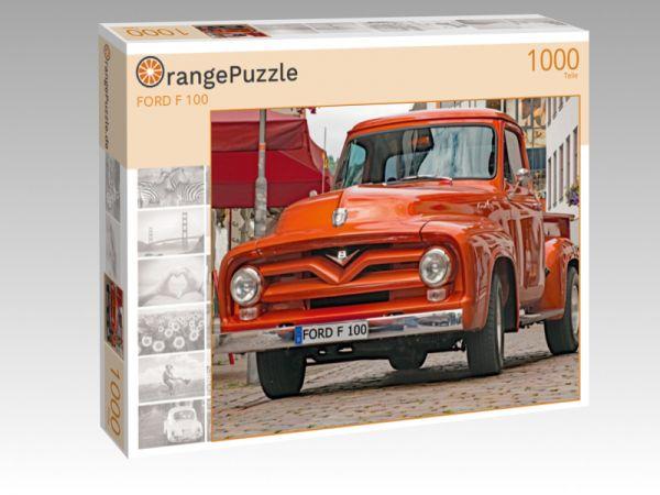 """Puzzle Motiv """"FORD F 100"""" - Puzzle-Schachtel zu 1000 Teile Puzzle"""