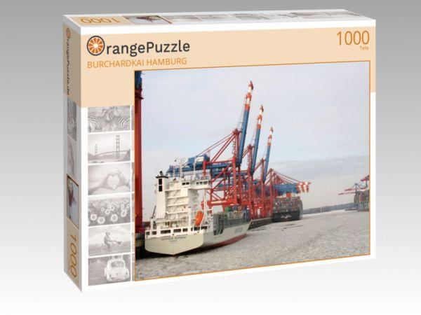 "Puzzle Motiv ""BURCHARDKAI HAMBURG"" - Puzzle-Schachtel zu 1000 Teile Puzzle"