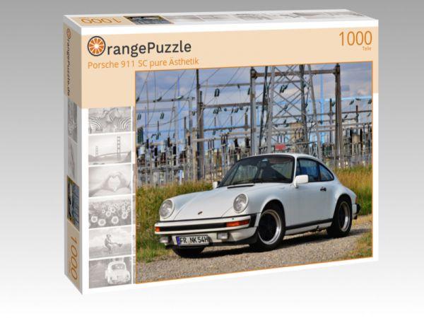 """Puzzle Motiv """"Porsche 911 SC pure Ästhetik"""" - Puzzle-Schachtel zu 1000 Teile Puzzle"""