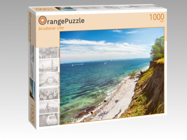"""Puzzle Motiv """"Brodtener Ufer"""" - Puzzle-Schachtel zu 1000 Teile Puzzle"""