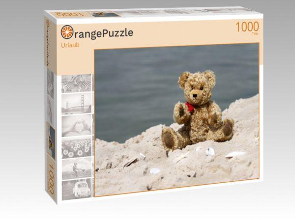 """Puzzle Motiv """"Urlaub"""" - Puzzle-Schachtel zu 1000 Teile Puzzle"""