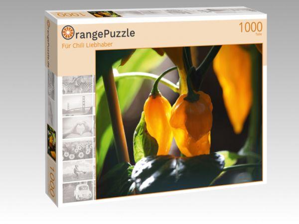 """Puzzle Motiv """"Für Chili Liebhaber"""" - Puzzle-Schachtel zu 1000 Teile Puzzle"""