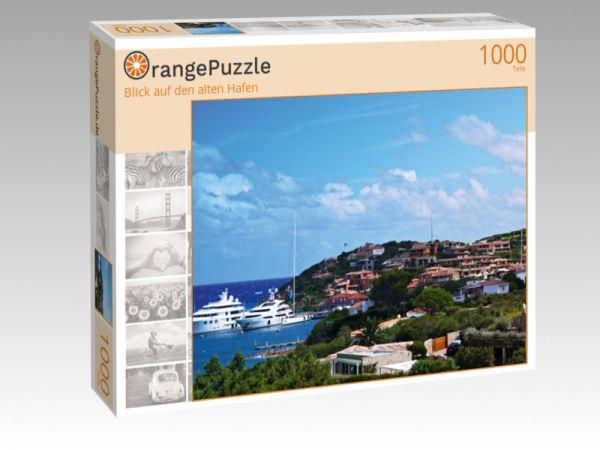 """Puzzle Motiv """"Blick auf den alten Hafen"""" - Puzzle-Schachtel zu 1000 Teile Puzzle"""
