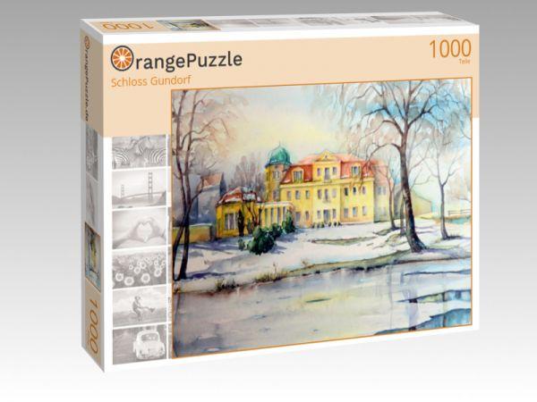 """Puzzle Motiv """"Schloss Gundorf"""" - Puzzle-Schachtel zu 1000 Teile Puzzle"""
