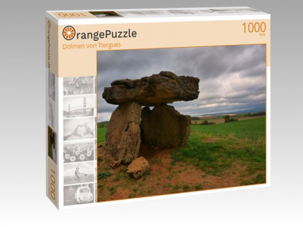 "Puzzle Motiv ""Dolmen von Tiergues"" - Puzzle-Schachtel zu 1000 Teile Puzzle"