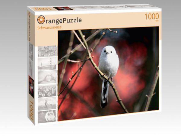 """Puzzle Motiv """"Schwanzmeise"""" - Puzzle-Schachtel zu 1000 Teile Puzzle"""
