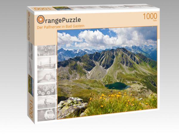 """Puzzle Motiv """"Der Palfnersee in Bad Gastein"""" - Puzzle-Schachtel zu 1000 Teile Puzzle"""