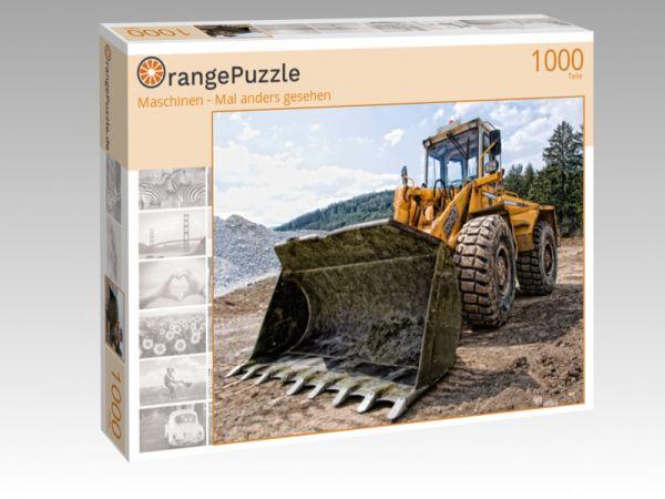 """Puzzle Motiv """"Maschinen - Mal anders gesehen"""" - Puzzle-Schachtel zu 1000 Teile Puzzle"""