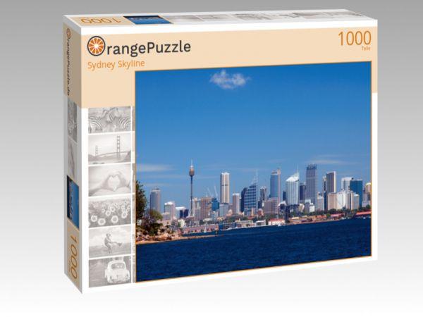 """Puzzle Motiv """"Sydney Skyline"""" - Puzzle-Schachtel zu 1000 Teile Puzzle"""