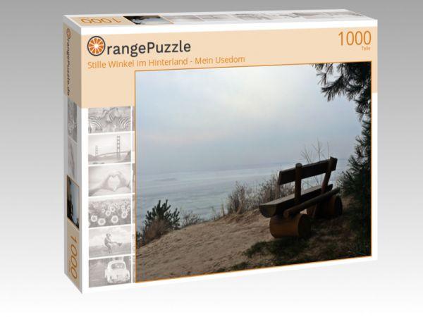"""Puzzle Motiv """"Stille Winkel im Hinterland - Mein Usedom"""" - Puzzle-Schachtel zu 1000 Teile Puzzle"""