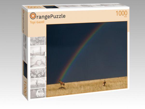 """Puzzle Motiv """"Topi Gazell"""" - Puzzle-Schachtel zu 1000 Teile Puzzle"""