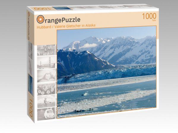 """Puzzle Motiv """"Hubbard / Valerie Gletscher in Alaska"""" - Puzzle-Schachtel zu 1000 Teile Puzzle"""