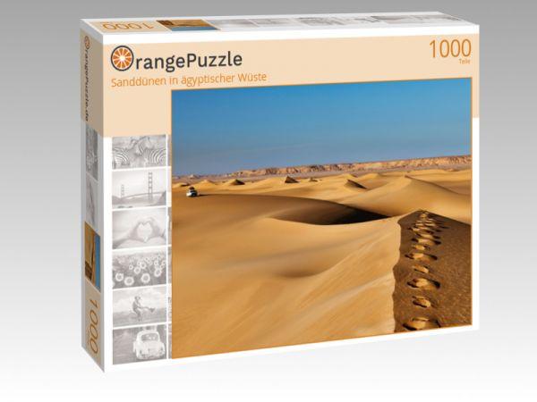 """Puzzle Motiv """"Sanddünen in ägyptischer Wüste"""" - Puzzle-Schachtel zu 1000 Teile Puzzle"""