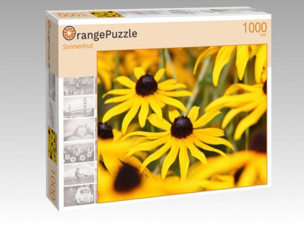 """Puzzle Motiv """"Sonnenhut"""" - Puzzle-Schachtel zu 1000 Teile Puzzle"""