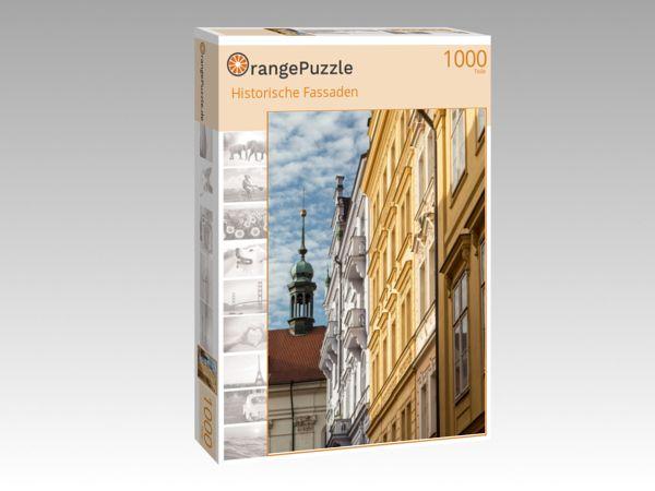 """Puzzle Motiv """"Historische Fassaden"""" - Puzzle-Schachtel zu 1000 Teile Puzzle"""
