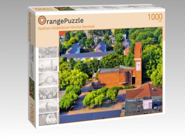 """Puzzle Motiv """"Nathan-Söderblom-Kirche Reinbek"""" - Puzzle-Schachtel zu 1000 Teile Puzzle"""