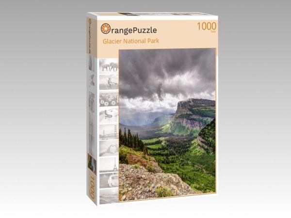 """Puzzle Motiv """"Glacier National Park"""" - Puzzle-Schachtel zu 1000 Teile Puzzle"""