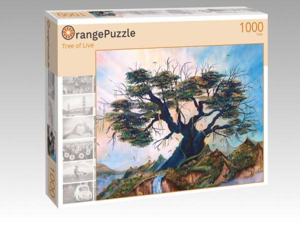 """Puzzle Motiv """"Tree of Live"""" - Puzzle-Schachtel zu 1000 Teile Puzzle"""
