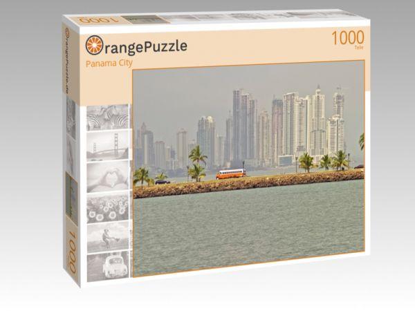 """Puzzle Motiv """"Panama City"""" - Puzzle-Schachtel zu 1000 Teile Puzzle"""