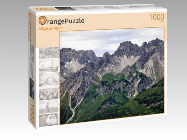 "Puzzle Motiv ""Allgäuer Alpen"" - Puzzle-Schachtel zu 1000 Teile Puzzle"