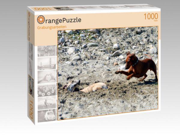 """Puzzle Motiv """"Grabungsarbeiten"""" - Puzzle-Schachtel zu 1000 Teile Puzzle"""