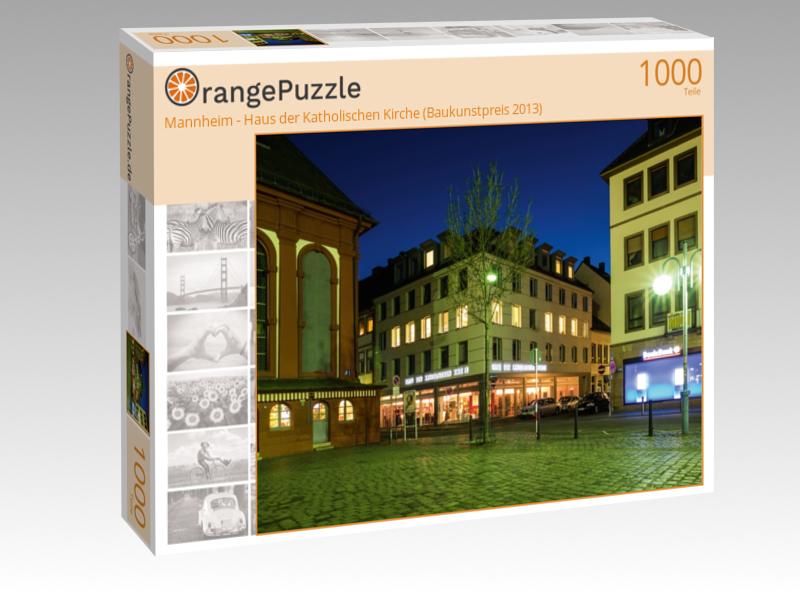 """Puzzle """"Mannheim Haus der Katholischen Kirche"""