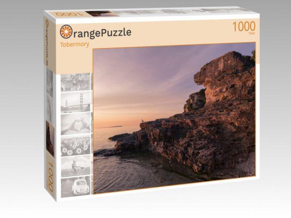 """Puzzle Motiv """"Tobermory"""" - Puzzle-Schachtel zu 1000 Teile Puzzle"""