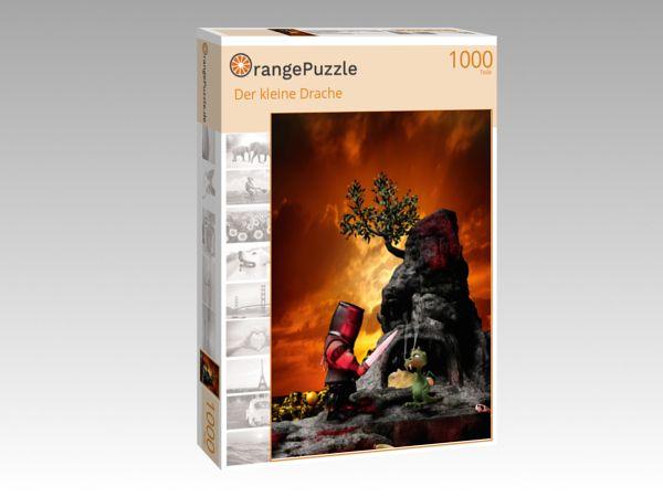 "Puzzle Motiv ""Der kleine Drache"" - Puzzle-Schachtel zu 1000 Teile Puzzle"