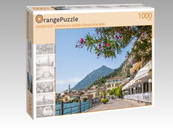 """Puzzle Motiv """"GARDASEE Limone sul Garda Uferpromenade"""" - Puzzle-Schachtel zu 1000 Teile Puzzle"""