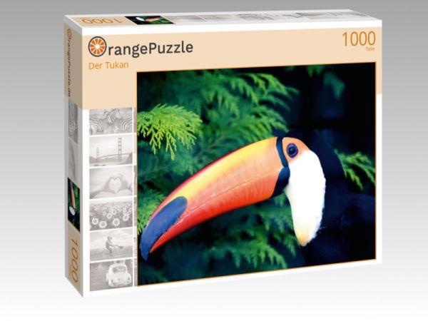 """Puzzle Motiv """"Der Tukan"""" - Puzzle-Schachtel zu 1000 Teile Puzzle"""
